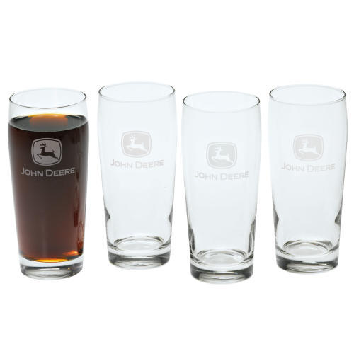 John Deere Tall Beverage Glass Set