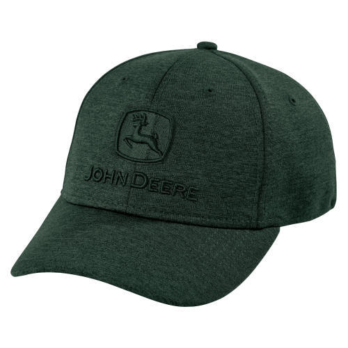 Dark Green Stretch Cap Front