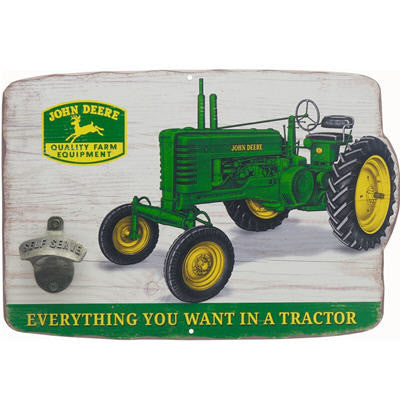 Tractor Sign with Bottle Opener LP67212