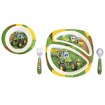 4 Piece Johnny Tractor Dish Set LP64811