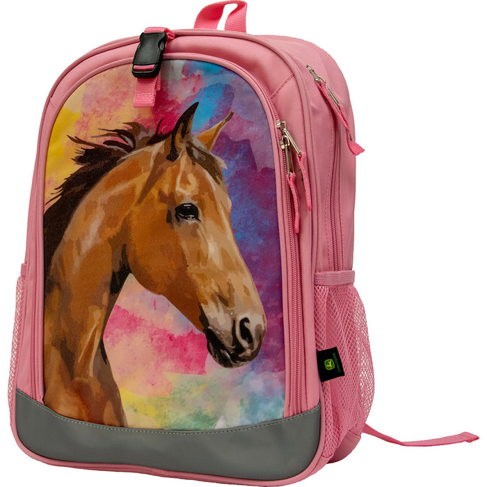 Painted Horse Pink Backpack