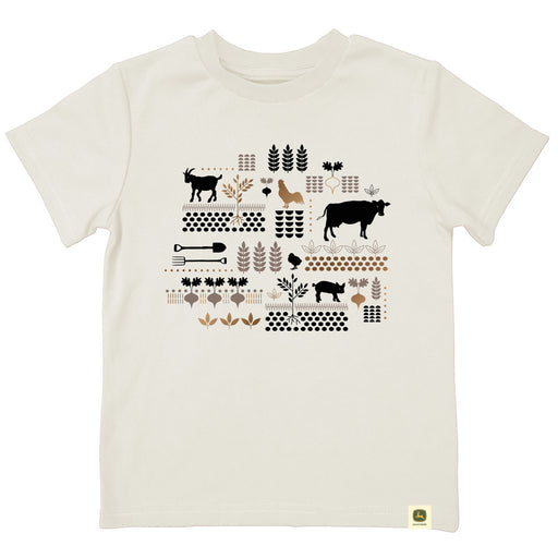 Farm Scene Collage Short Sleeve