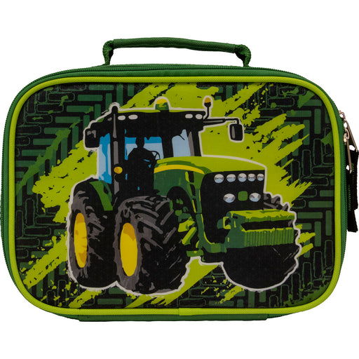 Green Tractor With Tracks Lunchbox LP70703