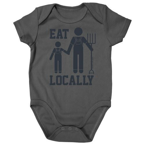Eat Locally Onesie F31004210CH