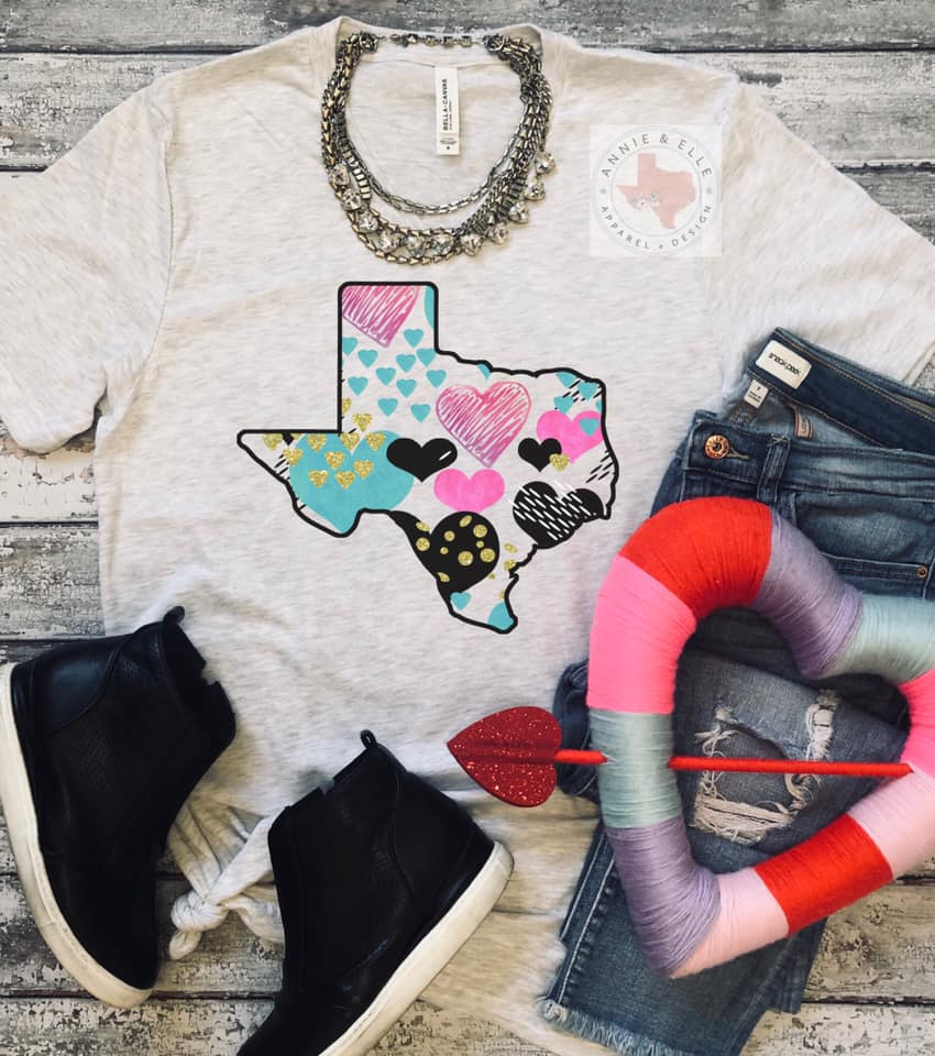 🖤💗Texas Multi Hearts💗🖤