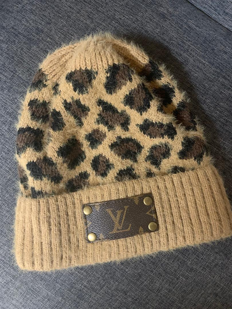 Authentic Upcycled and Recycled Designer Beanie