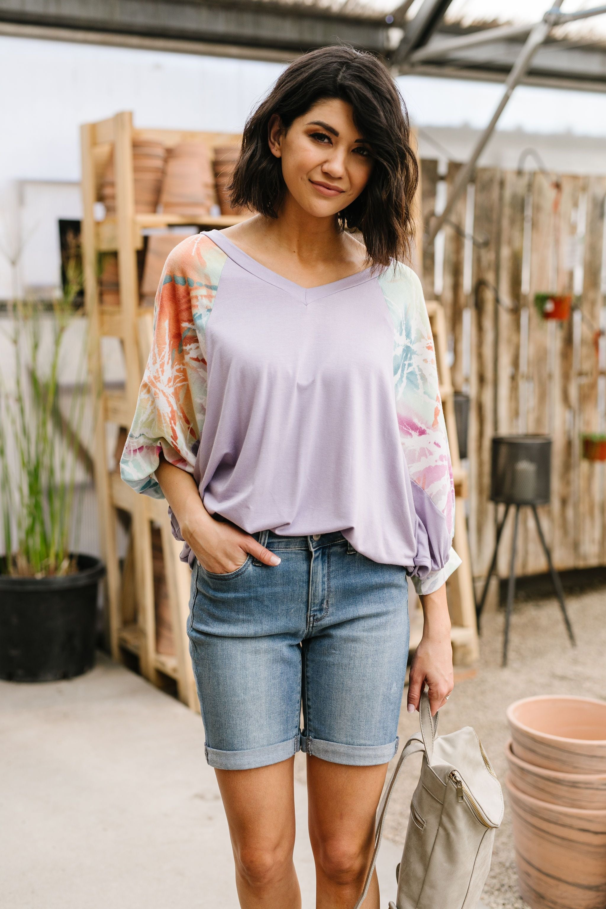 Burst Of Color Top