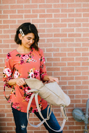 Ginger Floral Blouse