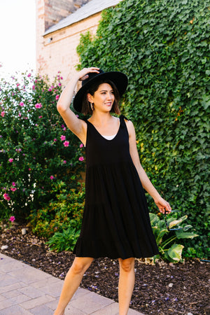 Go With The Flow Tiered Dress