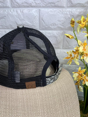 Authentic Upcycled and Recycled Designer Hat