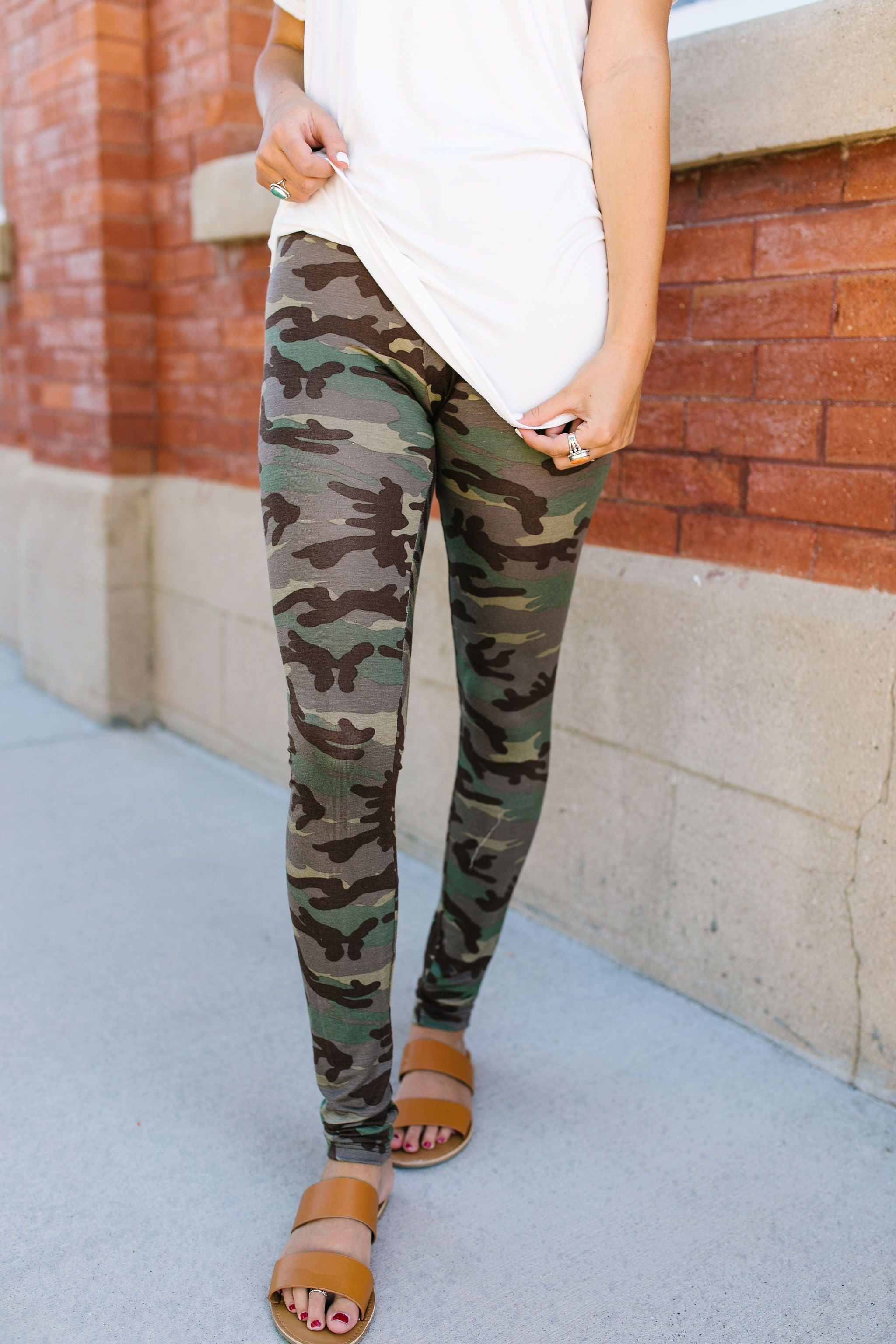 Hide N Seek Camouflage Leggings