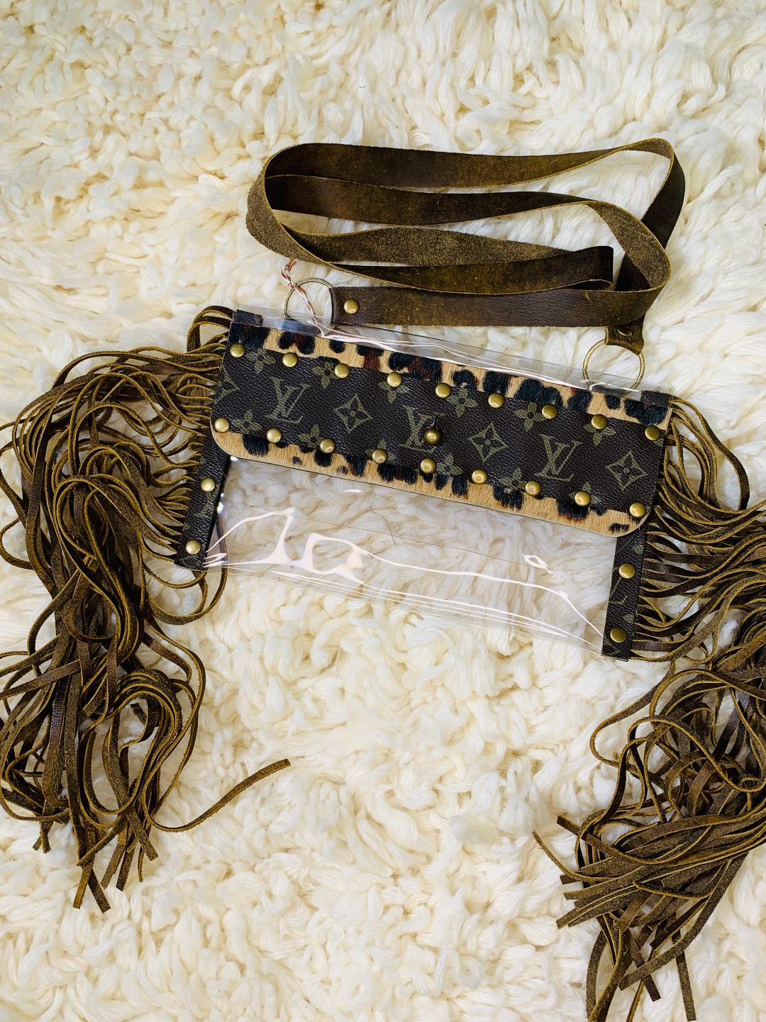 Stadium Bag: Keep It Gypsy Embellished Cross Body Purse