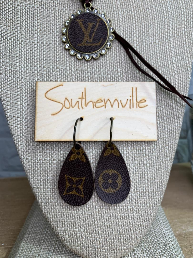 Authentic Upcycled and Recycled Designer Earrings