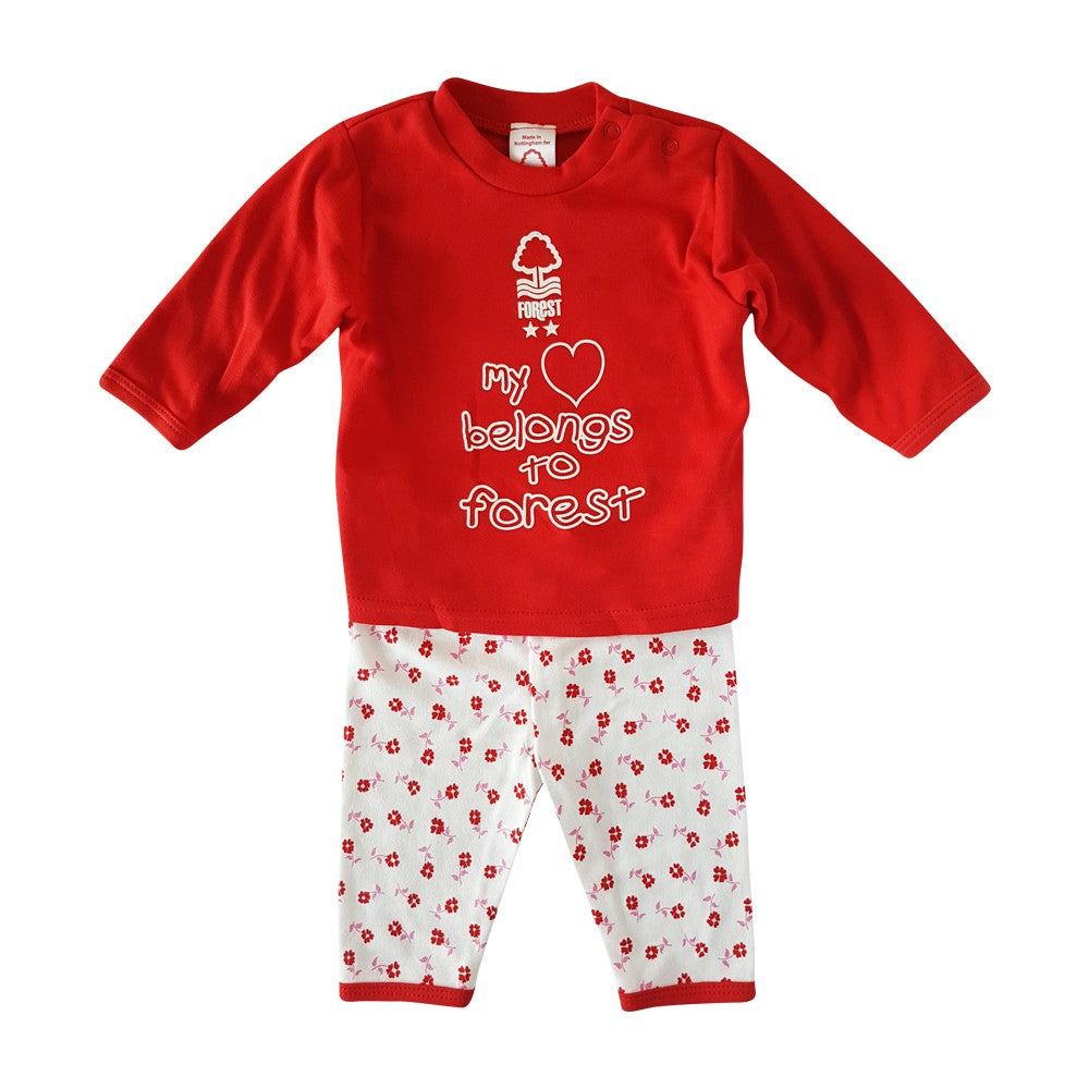 NFFC Baby Daisy 2 Piece Set - Nottingham Forest