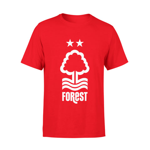 NFFC Mens Red Crest T-Shirt