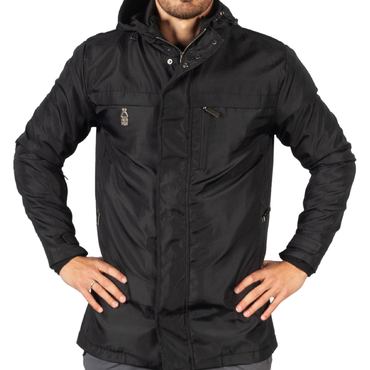 NFFC Mens Black 3 in 1 Jacket