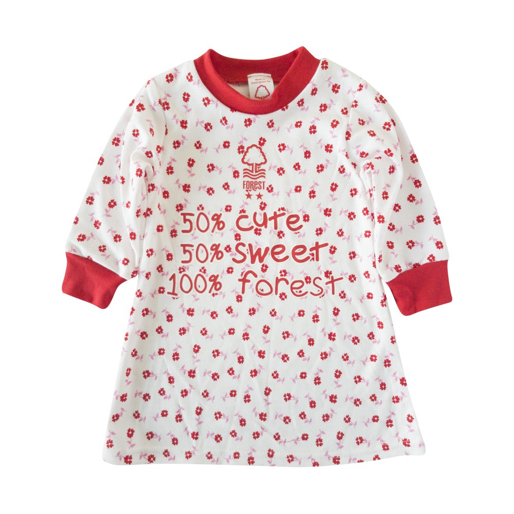 NFFC Infant Daisy Dress - Nottingham Forest