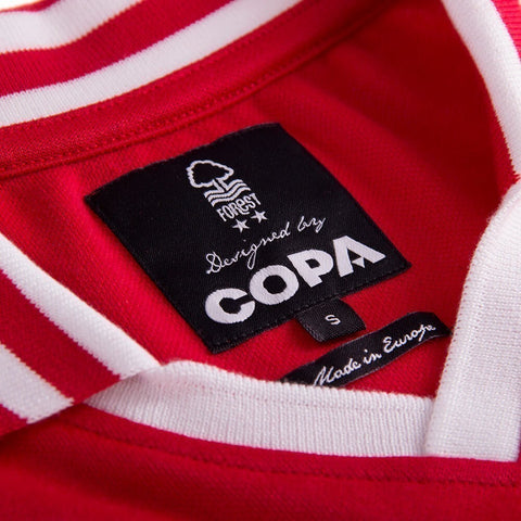 NFFC Mens Retro 1976 Home Shirt - Nottingham Forest