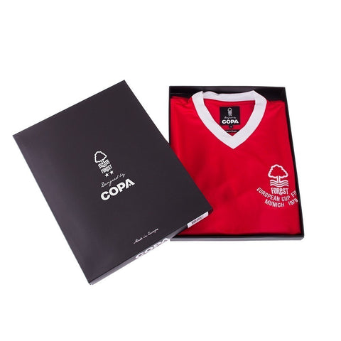 NFFC Mens Retro 1979 European Cup Shirt - Nottingham Forest
