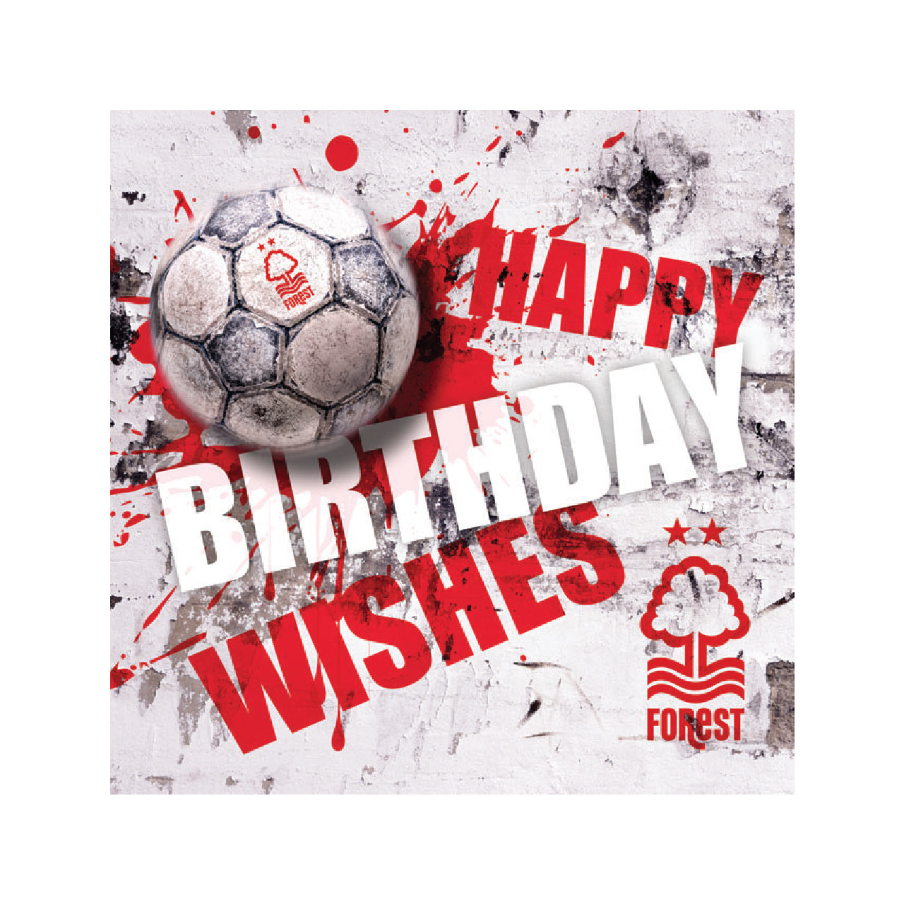 NFFC Splatter Ball Card