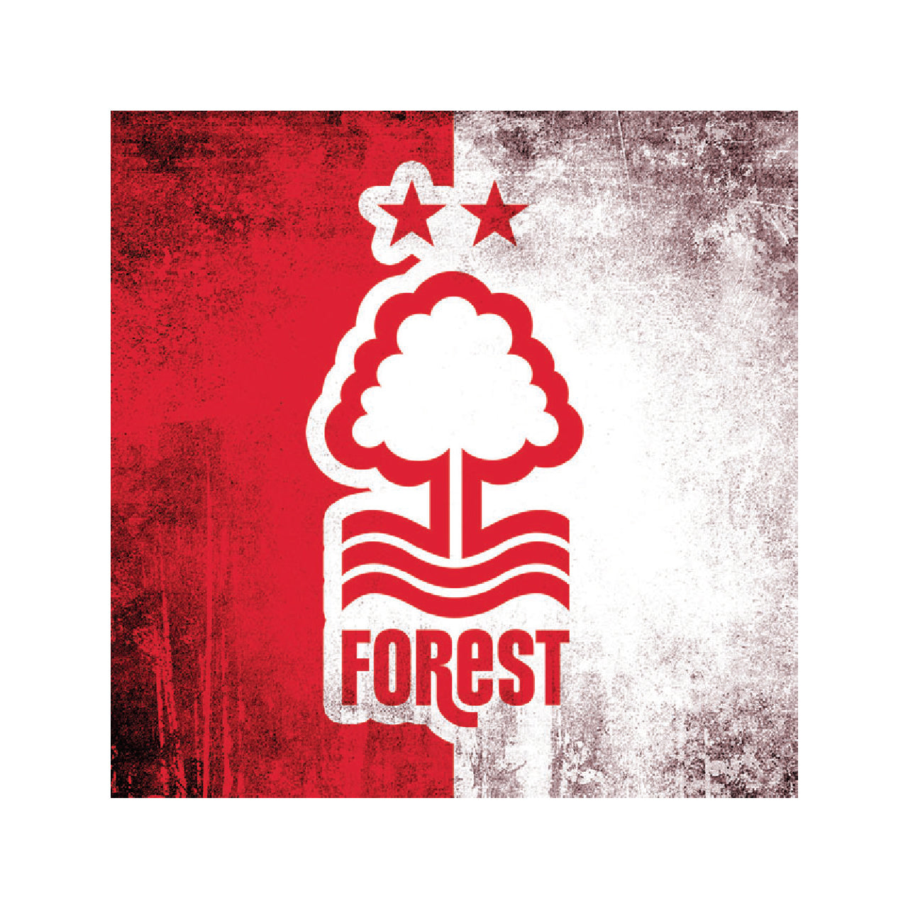 NFFC Two Tone Crest Card