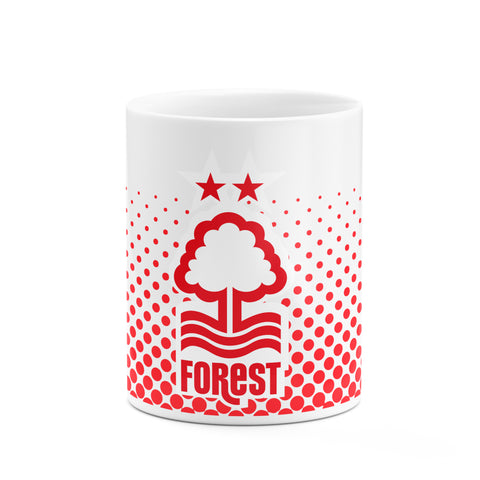NFFC Dot Fade Mug - Nottingham Forest