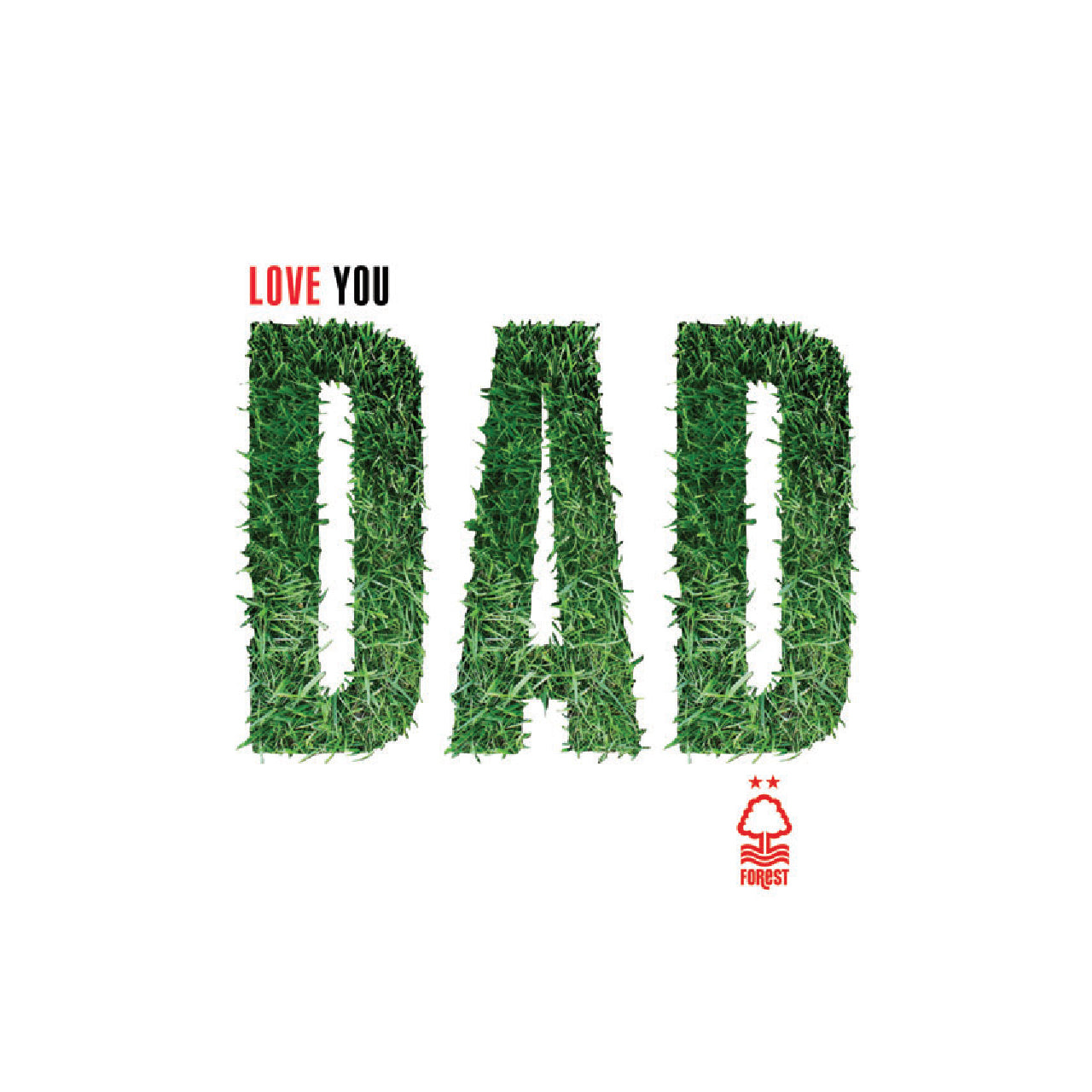 NFFC Grass Dad Text Card