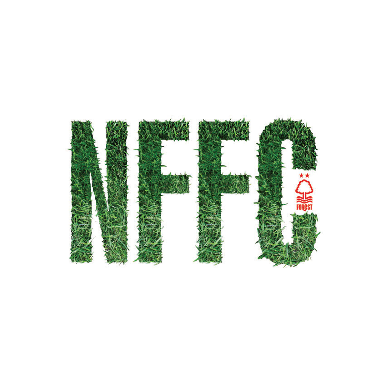 NFFC Grass Text Card