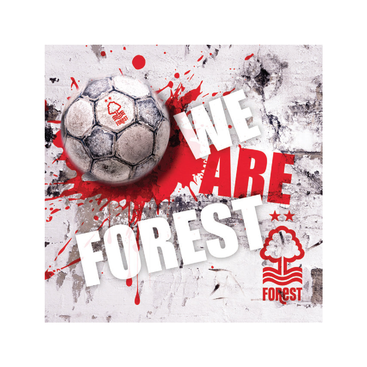 NFFC Splatter We Are Forest Card