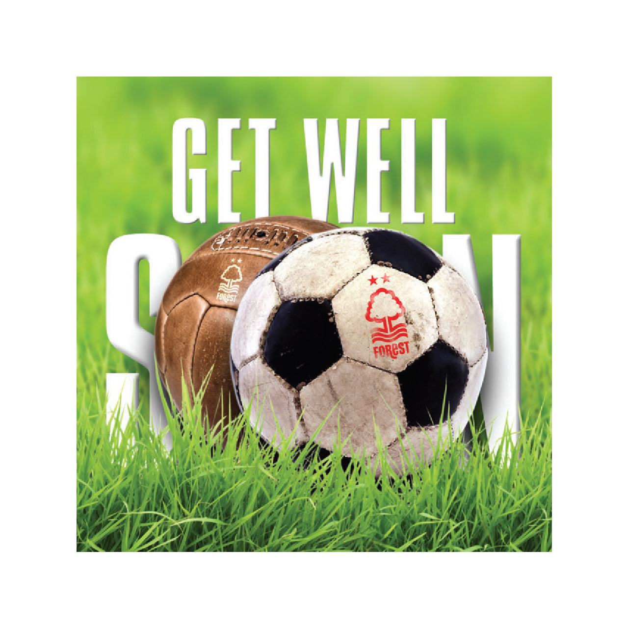 NFFC Get Well Soon Card - Nottingham Forest