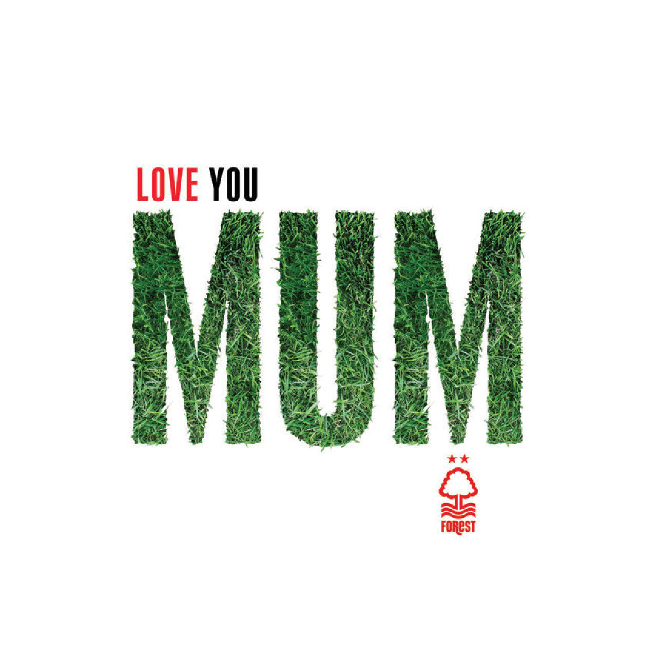 NFFC Love You Mum Card