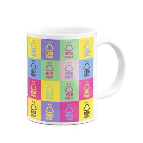 NFFC Multi Colour Crest Mug