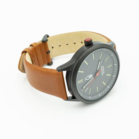 NFFC Mens Leather Strap Sekonda Watch