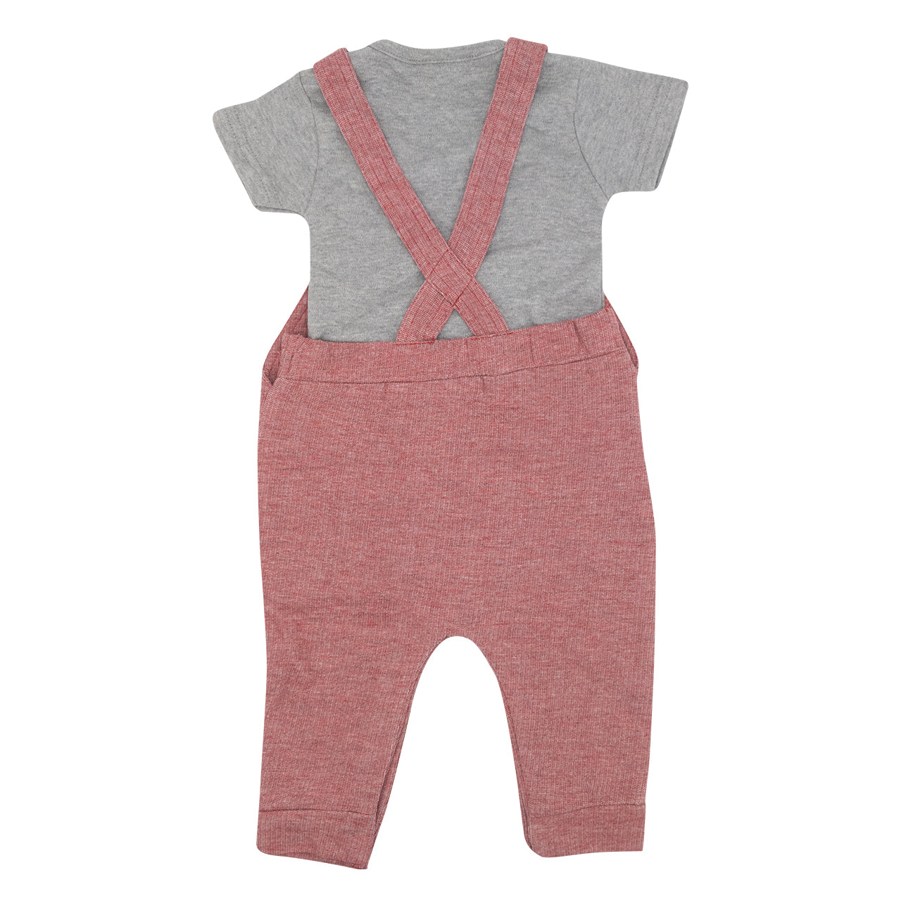 NFFC Tommy Baby Dungaree Set