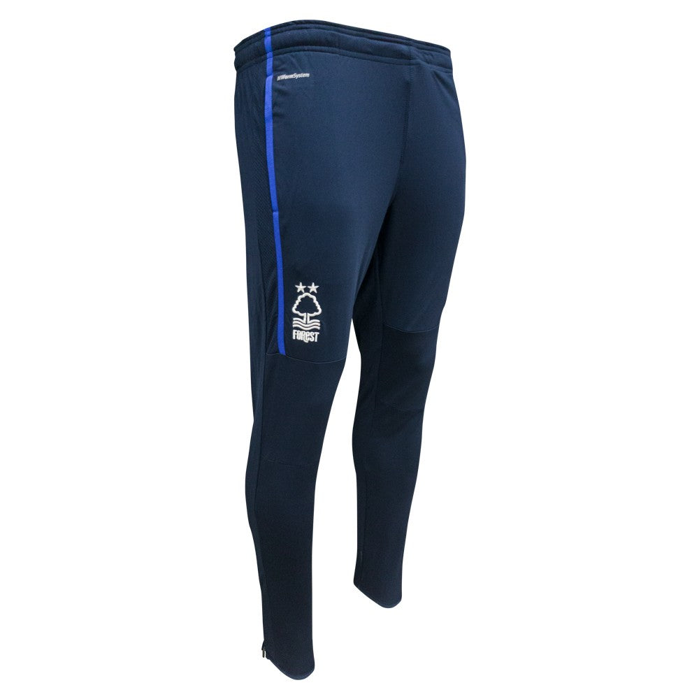 NFFC Mens Navy Poly Training Pants 18/19 - Nottingham Forest