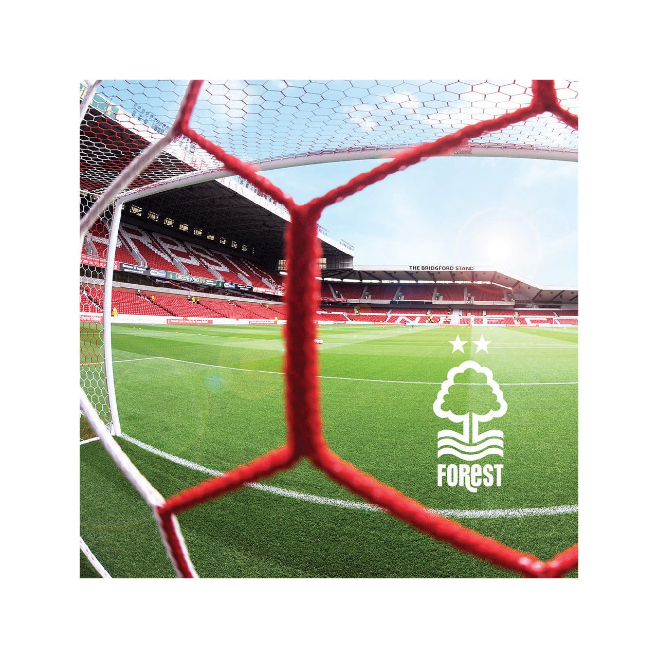 NFFC Goal Net City Ground Card
