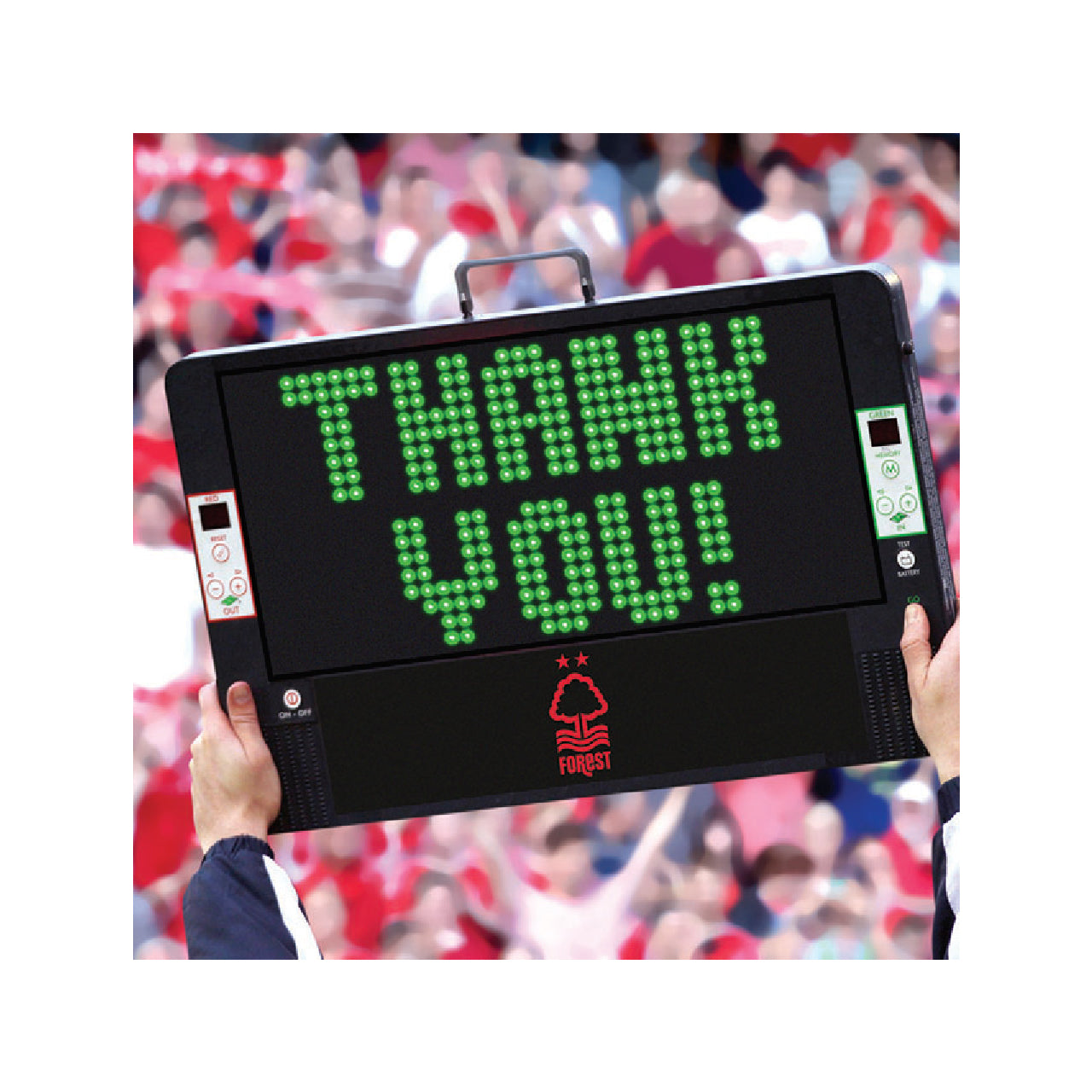 NFFC Thank-you LED Card