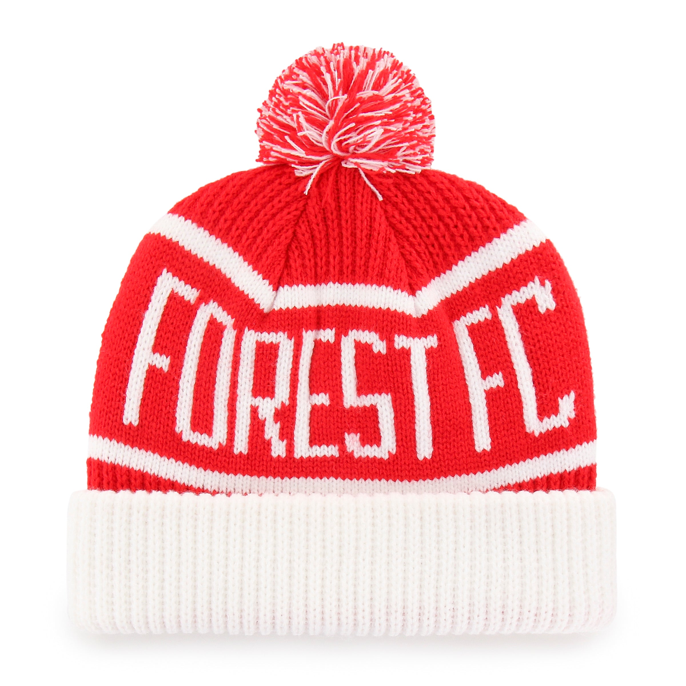NFFC Red Calgary '47 Cuff Knit