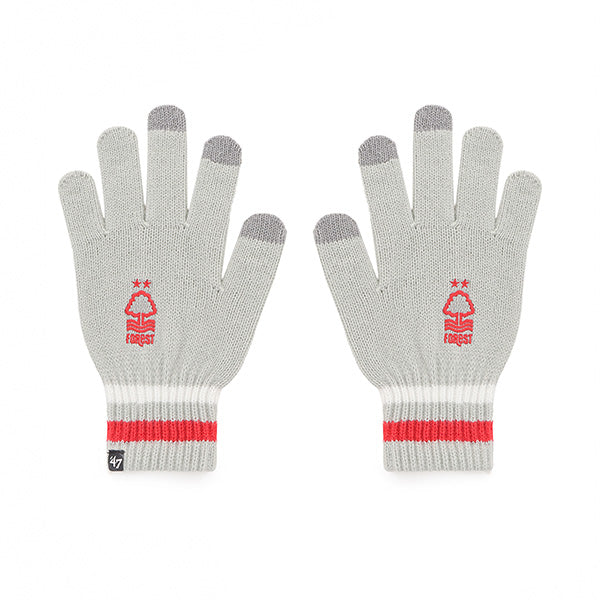 NFFC Grey Jumble '47 Gloves