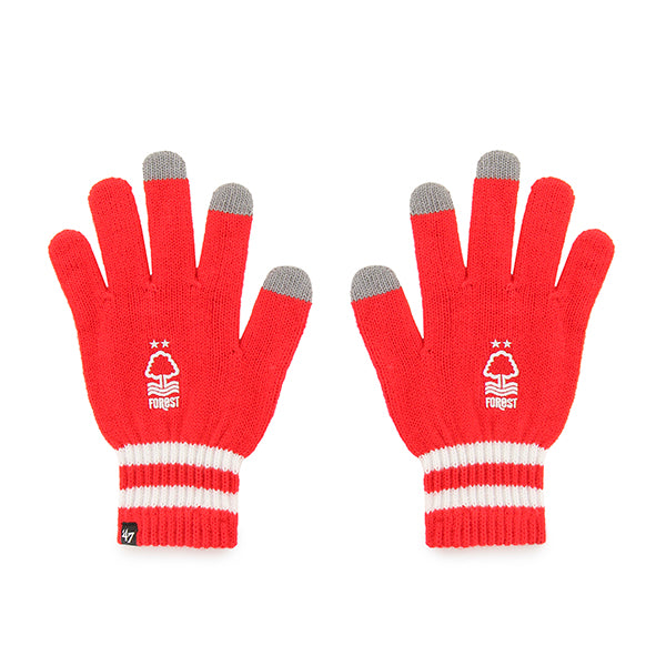 NFFC Red Jumble '47 Gloves