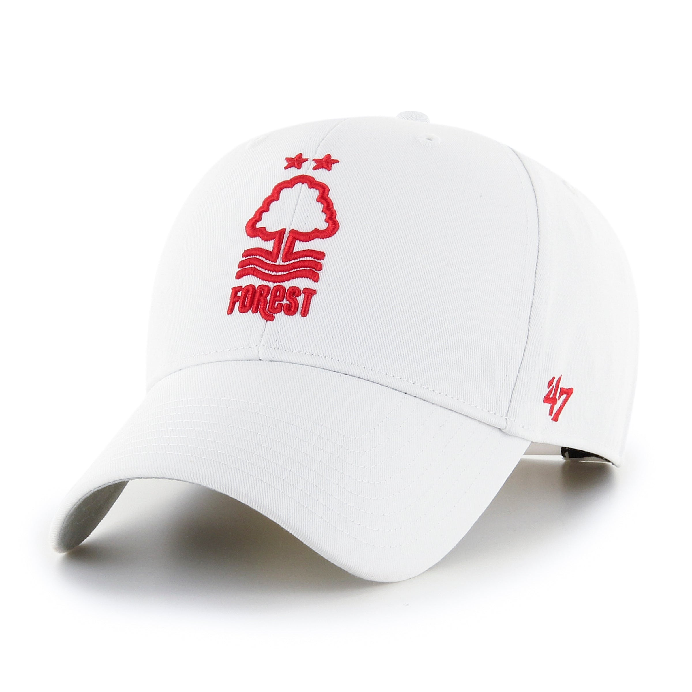 NFFC White Raised '47 MVP Cap