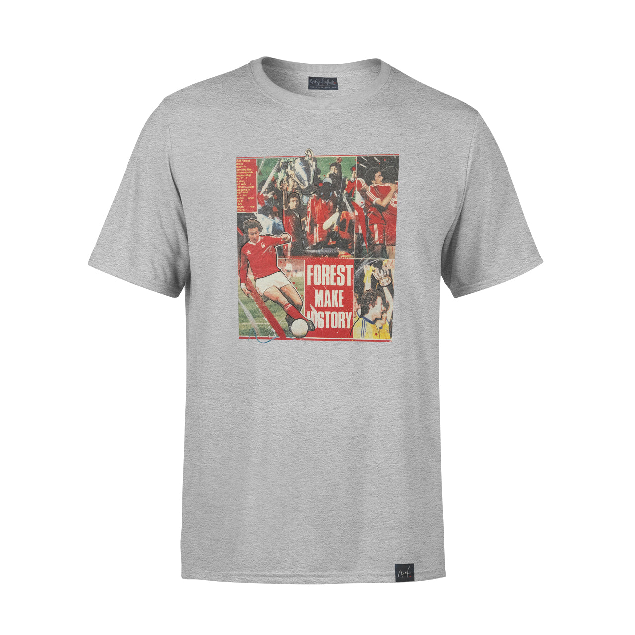 NFFC Mens Grey Welcome Home T-Shirt - Nottingham Forest