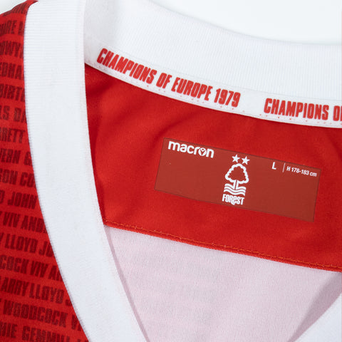 NFFC 1979 European Cup Celebration Shirt - Nottingham Forest