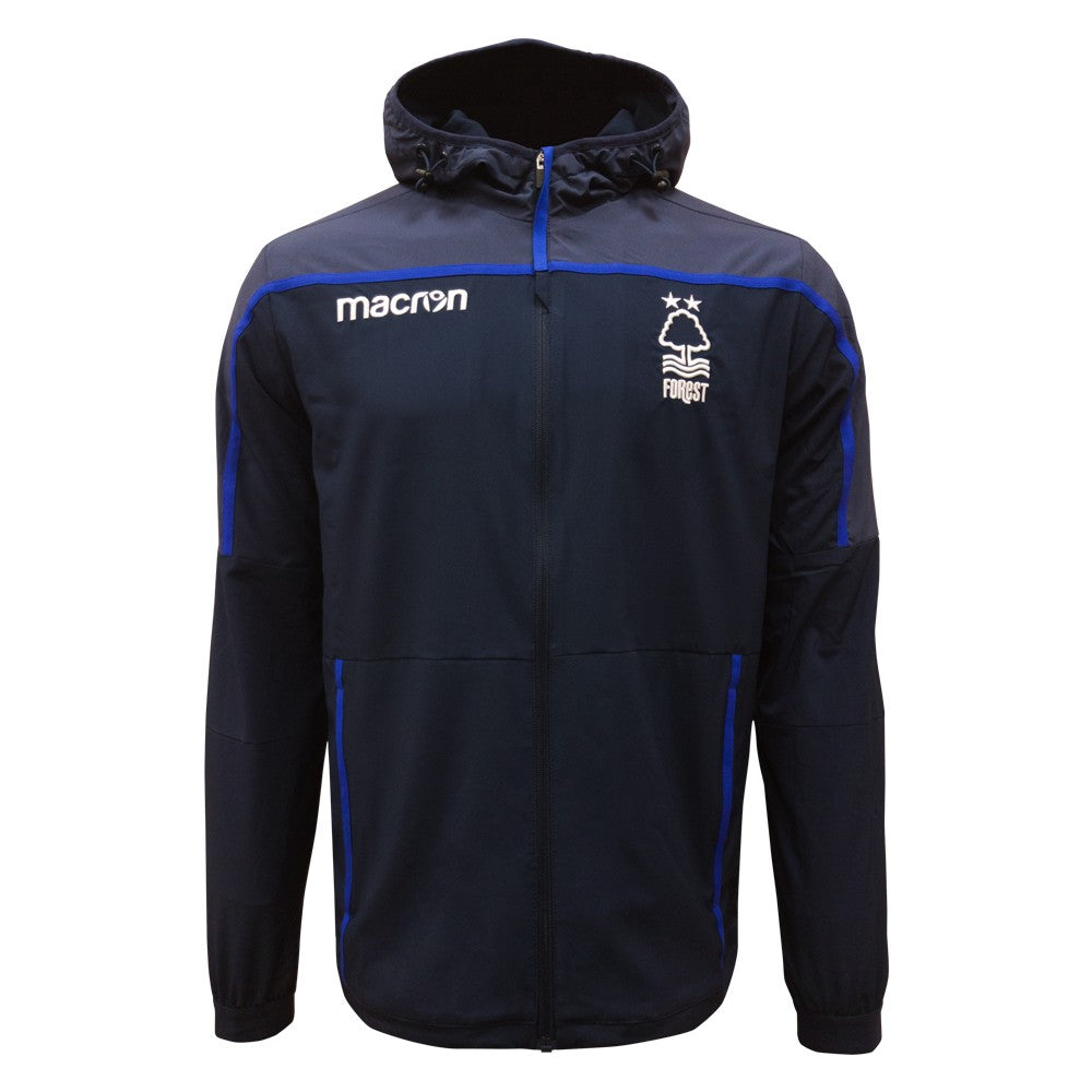 NFFC Mens Navy Anthem Jacket 18/19 - Nottingham Forest