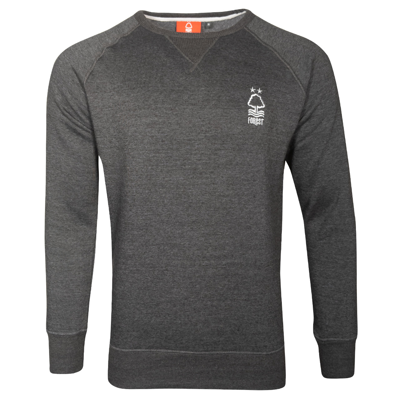 NFFC Mens Black Marl Essential Sweat