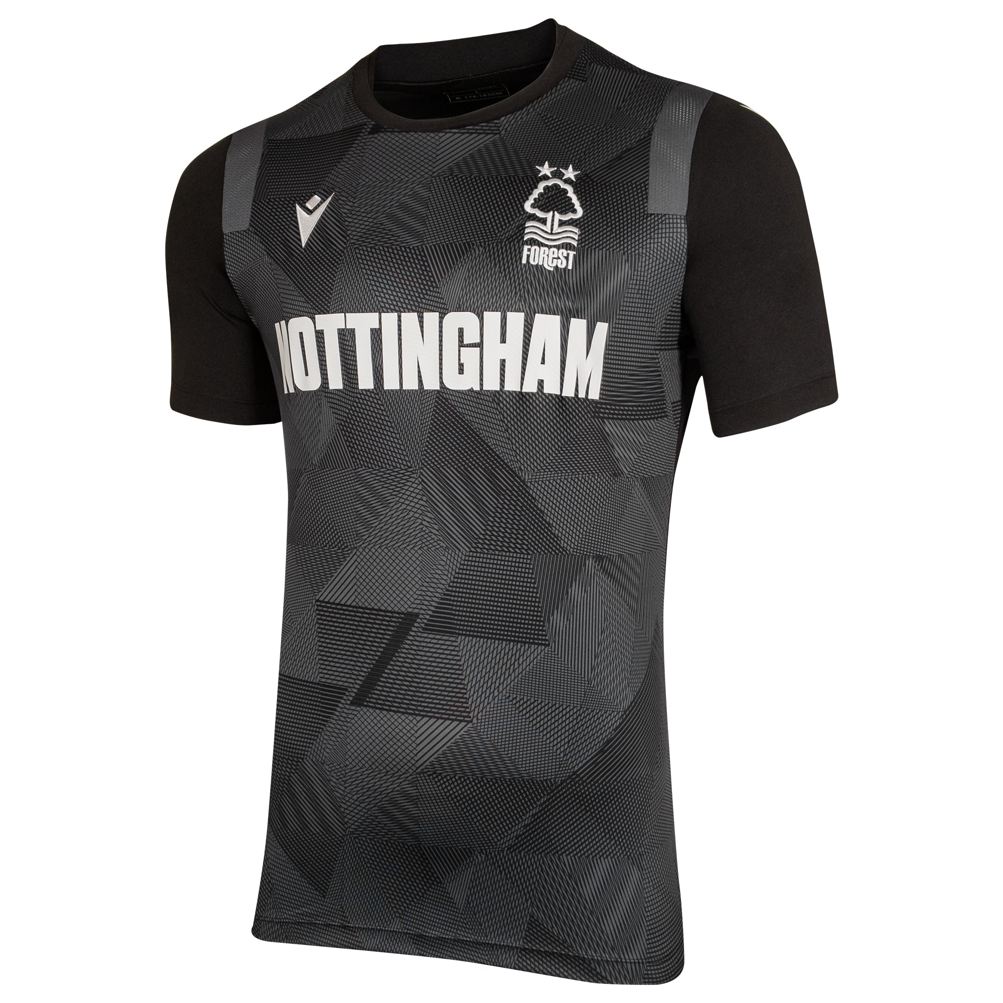 NFFC Mens Black Nottingham Jersey
