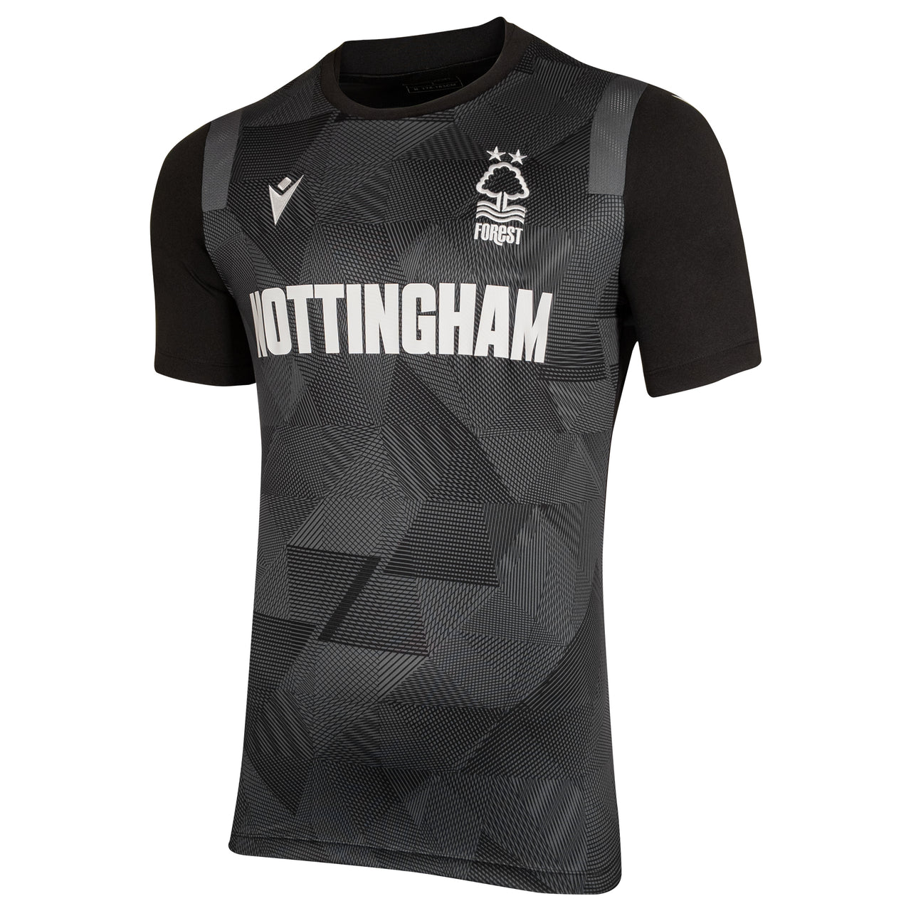 NFFC Junior Black Nottingham Jersey