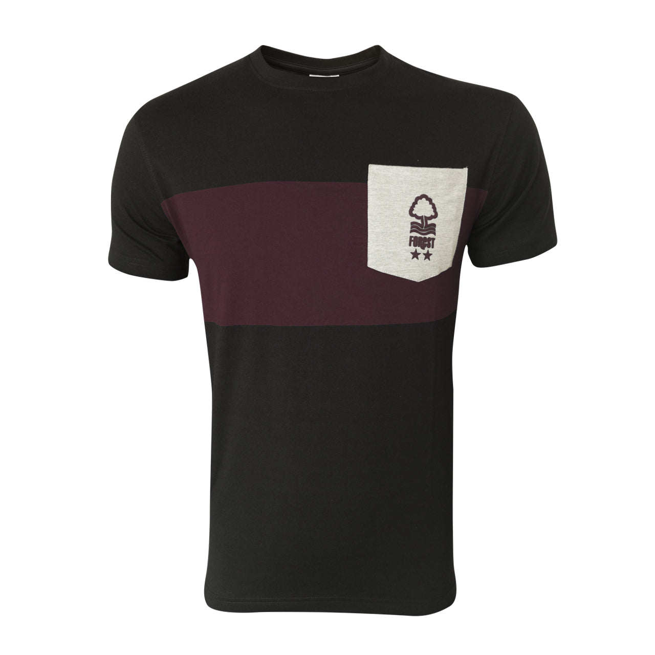 NFFC Mens Black Pocket T-Shirt
