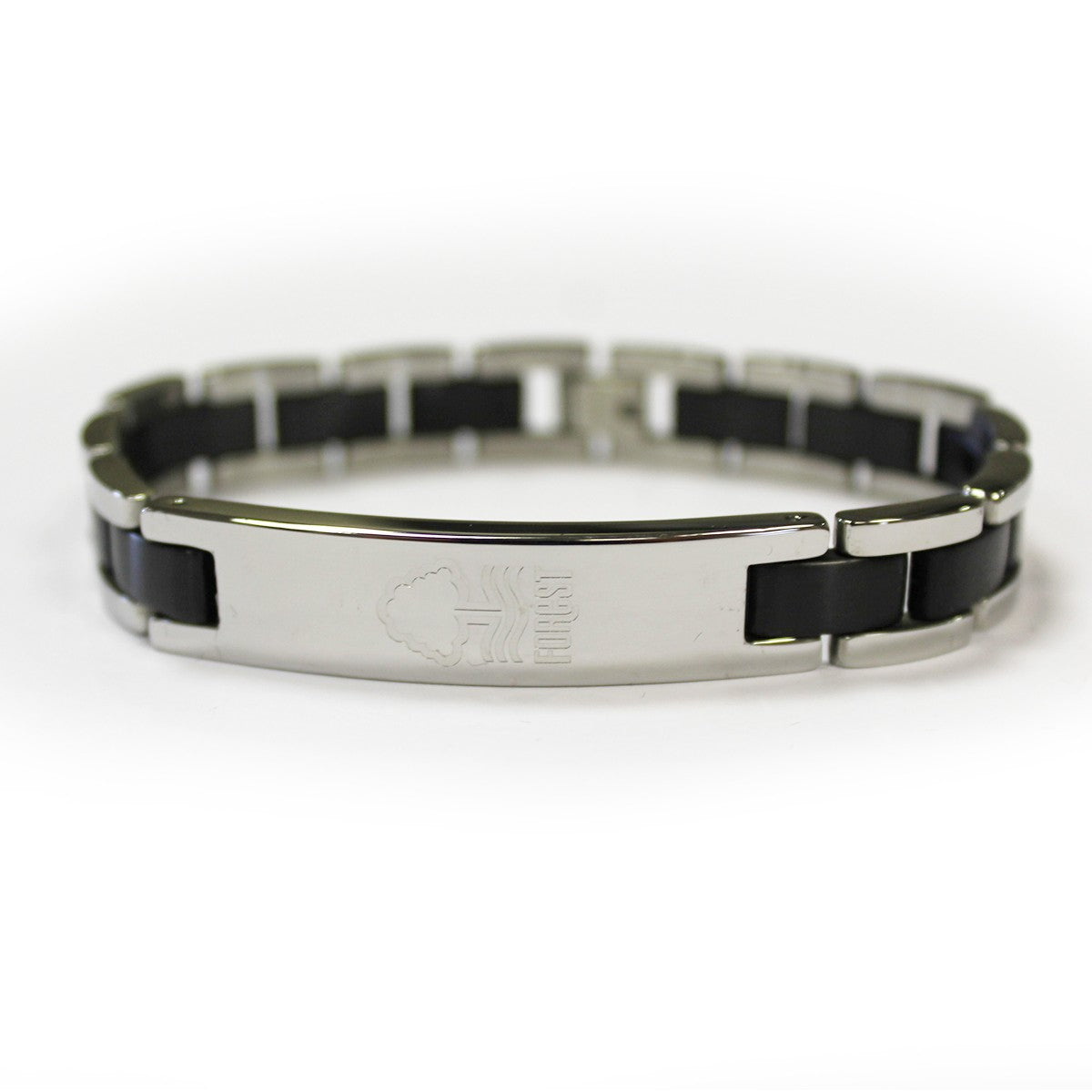 NFFC Black Inlay Crest Bracelet