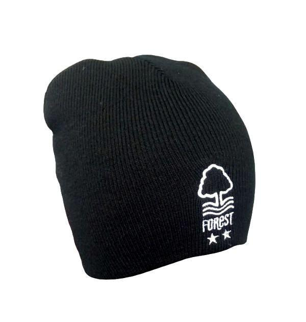NFFC Adult Core Black Beanie - Nottingham Forest